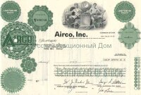 Airco, Inc. Less than 100 shares, 1970's (green)