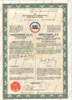 EUROTUNNEL P.L.C./S.A. Ordinary shares 40p/ Action de FRF 10. 100 units. SPECIMEN 1988