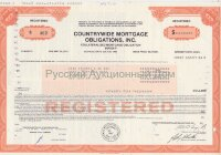 Countrywide mortgage obligations, Inc. Maryland. 1980's (orange)