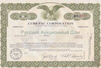 Cubb-pac corporation. Delaware. Shares.
