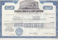 Florida Power & Light Company (FPL). Florida. 5% first mortgage bond. 1970's (blue)