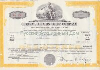 Central Illinois Light Company. Illinois. 7 5/8% bond. 1980's