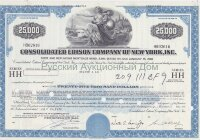 Consolidated Edison Company of New York, Inc. 8,9% bond, 1970's. 25000$