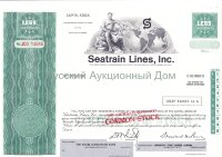 Seatrain Lines, Inc. Delaware. Less than 100 shares. Blank form. UNC
