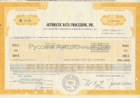 Automatic Data Processing, Inc. Delaware. 6 1/2% debenture. 1980's
