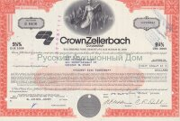 Crown Zellerbach Corporation. Nevada. 9 1/4% debenture. 1980's (red)