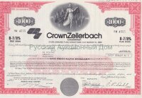 Crown Zellerbach Corporation. Nevada. 8 7/8% debenture. 1980's (pink) /1000$