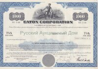 Eaton Corporation. Ohio. 7 7/8% debenture. 1970's. 1000$