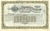 State of New York. Issue of March 1911. Loan for Highway Improvement. 5000$ (olive)
