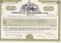 Fairchild Industries, Inc. Maryland. 9 3/4% debenture. 1990's