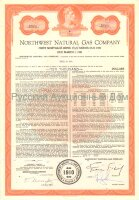 Northwest Natural Gas Company. Oregon. 5 3/4% bond. 1960-1980's