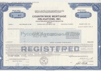Countrywide mortgage obligations, Inc. Maryland. 1980's (blue)