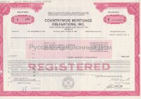 Countrywide mortgage obligations, Inc. Maryland. 1980's (pink)