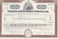 Federal Paper Board Company, Inc. New York. 7.85% debenture. 1970's