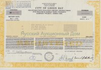 City of Green Bay. Wisconsin.  Pollution control revenue bond. 1980's