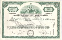 Allstate Investment Corporation. Delaware. 100 shares. 1960s