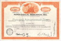 Aerological Research, Inc. Delaware. Shares. 1969