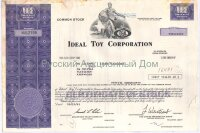 Ideal Toy Corporation. Delaware. More than 100 shares. 1981