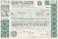 Indiana Bell Telephone Company, Incorporated. 8% debenture. 1980's