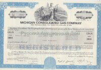 Michigan Consolidated Gas Company. Michigan. 13 1/2% bond. 1980's