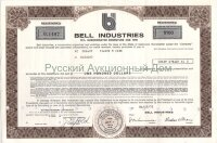 Bell Industries, California. 10% debenture. 1975