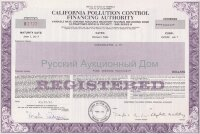 California Pollution Control Financing Authority. Resource recovery revenue bond. 1990's (purple)
