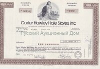 Carter Hawley Hale Stores, Inc. California. 100 shares. 1970's (brown)