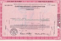 Curtiss-Wright Corporation, Delaware. Less then 100 shares. 1980's