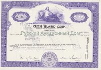 Cross Island Corp. Delaware. Shares. 1960's
