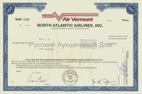 North Atlantic Airlines, Inc. (Air Vermont). 100 shares. 1983