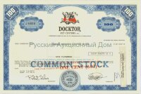 Docktor Pet Centers, Inc. Pennsylvania. 100 shares, 1972