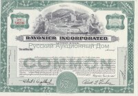 Rayonier Incorporated. Delaware. Stock certificate (green) . Blank form. UNC