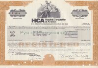 HCA. Hospital Corporation of America. Tennessee. 8 1/2% debenture. 1980's